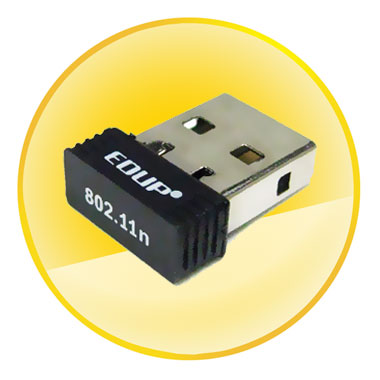 802.11b/g/n 150Mbps Wireless USB 2.0 Adapter