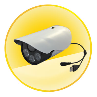 Waterproof IR Cut SD Card DVR CCTV Suiveillance Camera