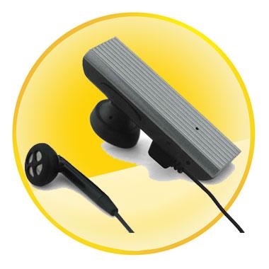 Micro-USB Touch Control Mono Bluetooth Headset