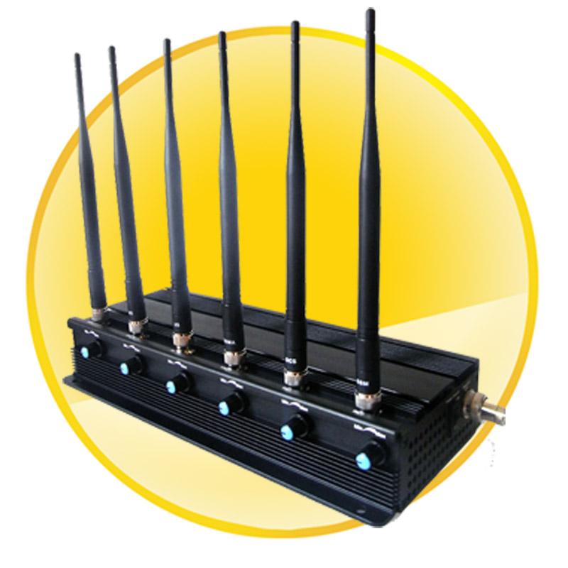7W Powerful All GPS Signals Jammer (GPS L1,L2,L3,L4.L5)