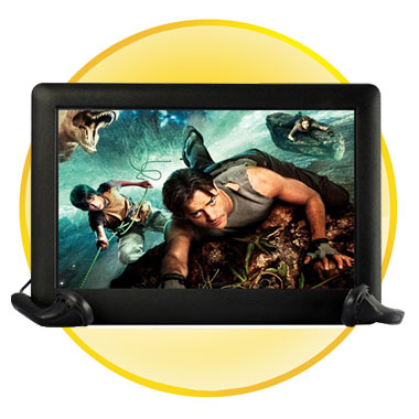 8GB MP4 Player with 720P HD 5inch Touchscreen