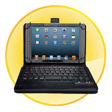 Removable Magnet Bluetooth Keyboard Case for 7inch / 8inch Tablet