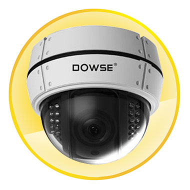 700TVL IR ON 0Lux Color Dome IR Camera with IR Distance 25M