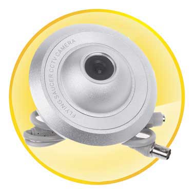 Mini Security Surveillance Camera with 6mm 1/3 Sony CCD Lens