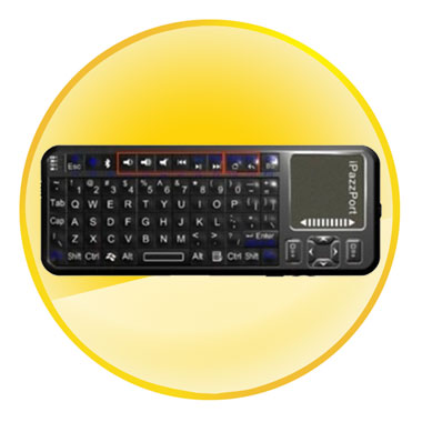 Bluetooth Radio Engineering Mini Handheld Keyboard
