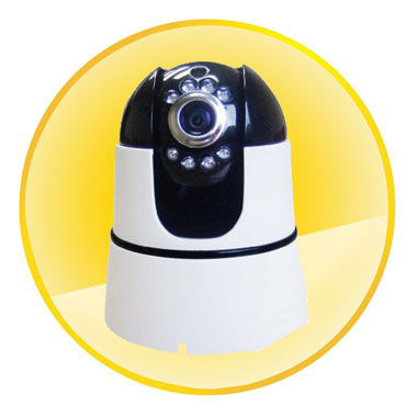 Wireless IP camera Pan/Tilt 2-ways Audio Mobile Viewing P2P Security Monitor Nightvision IR CCTV Indoor Network Webcams System