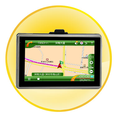 5.0 Inch TFT Screen Android 4.0 GPS Navigation