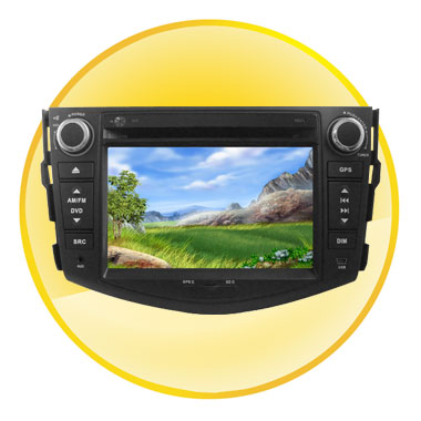 7.0 Inch Digital Screen Special Car DVD Player System for RAV4(2007-2011) with DVB-T and GPS + Bluetooth
