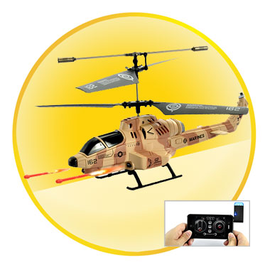 RC Helicopter Controlled by iPhone/iPad/iPod Touch/Android Phone