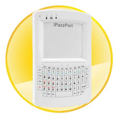 iPazzPort Bluetooth Mini Wireless Keyboard and Multi-touch