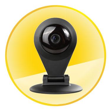720P 3.6mm Lens 1.0MP Wireless Household Video Monitoring IR Night Vision IP Camera
