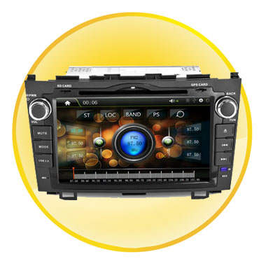 8 Inch Touch Screen Car DVD with GPS Navigation System for Honda CRV