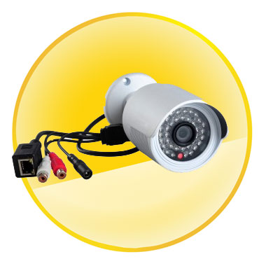 720P HD P2P H.264 ONVIF Infrared Waterproof Outdoor IP Camera