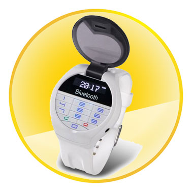 Smart Handfree Vibrating Bluetooth Watch