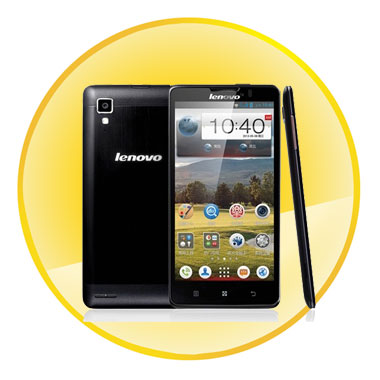 Lenovo P780 5.0inch Capacitive IPS Touch Android 4.2 Quad Core MTK6589 3G Smartphone Phablet