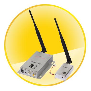 High Power 2.4G Wireless Video Transmission System