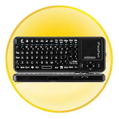 iPazzPort Bluetooth Mini Wireless Keyboard