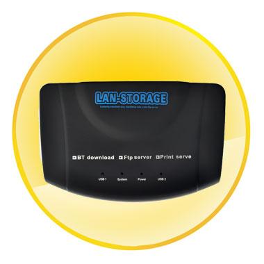 Multifunctional USB LAN Network Server