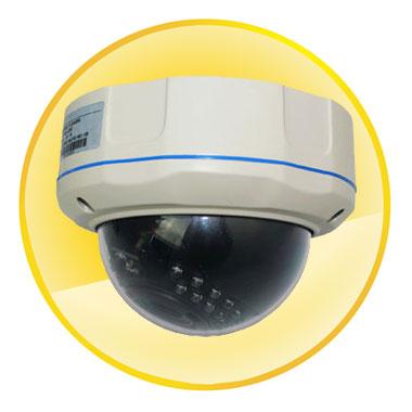 """720P 1/4"""" 1.0 Megapixel CMOS Sensor Dome Camera"""