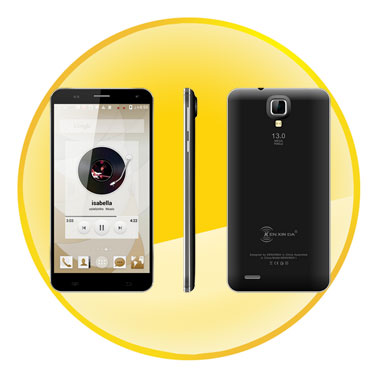 Ultra thin 5.5inch Android 4.4  Dual SIM Octa Core 3G Smartphone