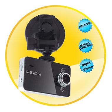 2.7 Inch Car Black 1080P HD Car Dvr With Night Vision