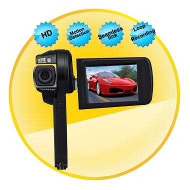 1080P 2.5 Inch TFT LCD Car DVR Camcorder with 12 Mega Pixels