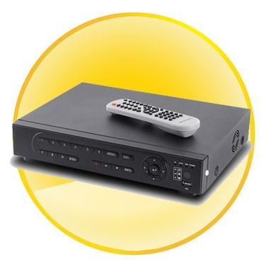 16 Channel Digital Video Recorder (DVR) (H.264, Free 500GB HDD)