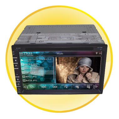 HD Digital Panel WINCE6.0 GPS Car DVD Player Support WIFI and 3G