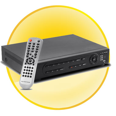 H.264 8 Channel DVR Security System with Free 1TB HDD