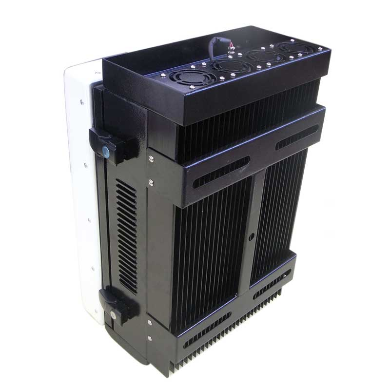 200W Powerful Waterproof WiFi Bluetooth 3G Mobile Phone Jammer with Directional Panel Antennas