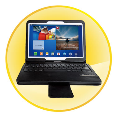 Removable Magnet Bluetooth Keyboard Case for Samsung Galaxy Tab 3 10.1 inch
