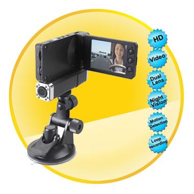 Dual Camera 1080P 2.7 Inch IR Motion Detection Car Video