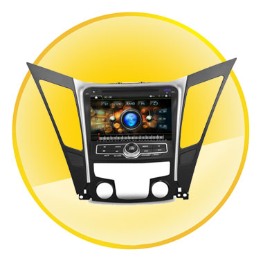8 Inch Touch Screen Car DVD with GPS Navigation System for Hyundai Sonata