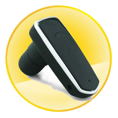 Standby Time 100H Mono Bluetooth Headset with Tail Number Redial Function