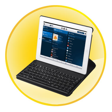 9.7 inch Portable Ideal Bluetooth Keyboard