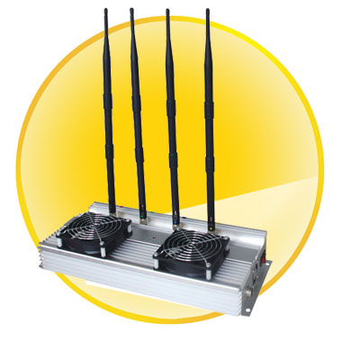High Power (45W) indoor Cell phone Jammer +Omni Directional Antennas