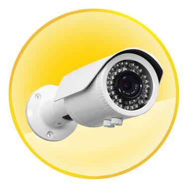1/3-inch 1.3 Megapixel Low Illumination CMOS 42 IR Leds Bullet Camera