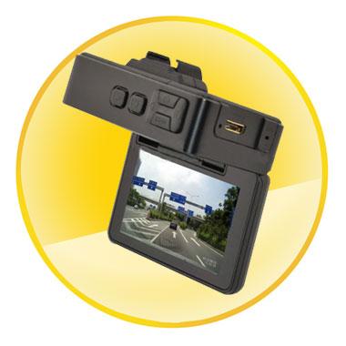 Full HD 1080P GPS G-sensor Car DVR Camera