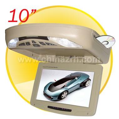10 inch Flip down monitor DVD Player + IR + FM + TV Function
