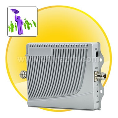 Cell Phone Signal Booster (Dual Band GSM 900MHz/1800MHz)-EU
