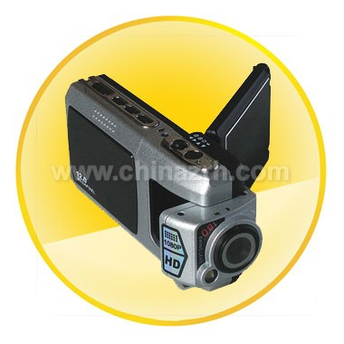 Full HD High Definition Video Camera/Recording with 180-degree reverse shot lens
