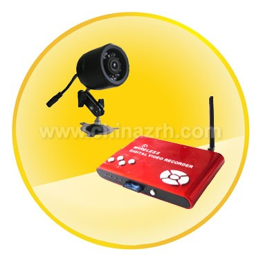 2.4GHz Wireless Mini DVR Support Auto Motion Detection and Recording