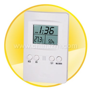 Thermometer W/Hygro with 2 Line LCD Display