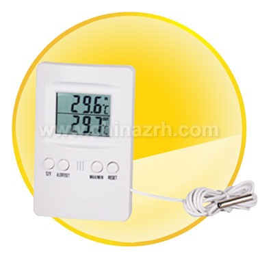 Indoor/Outdoor Thermometer with Long Enough Sensor