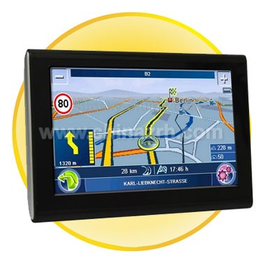7 inch TFT Touch-screen Car GPS Navigator, Free 2GB TF Card and Map, Support Bluetooth, AV In Ports, Voice Broadcast, FM Transmitter function