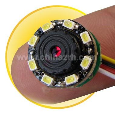 0.0Lux 520TVL Mini CCTV Camera (8 LEDs) with Audio & LED