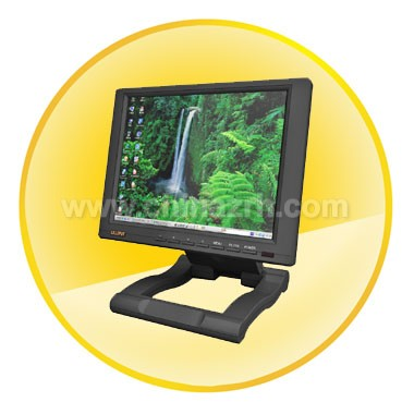 10.4  inch TFT LCD Touch Screen Monitor + HDMI and DVI Input