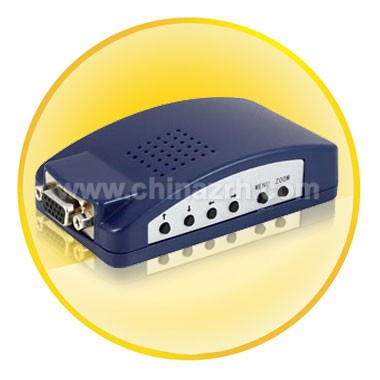 PC VGA to TV Composite & S-Video Converter
