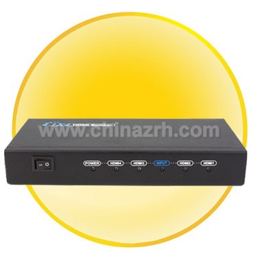 1*4 HDMI splitter-HDMI 1.3 + Full HDMI Resolutions