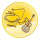 Diamond Guitar U-Disk Necklace